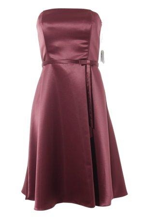 Abendkleid bordeauxrot Elegant