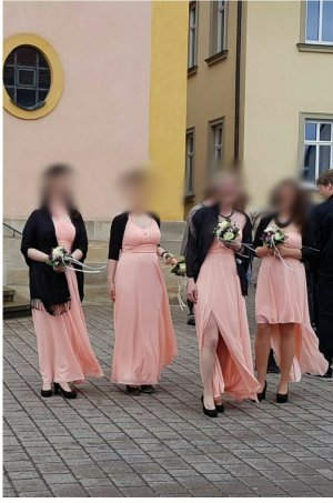 Abendkleid, Brautjungfernkleid 2x