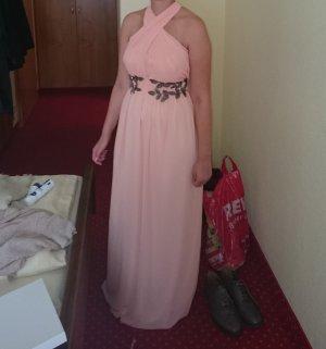 Abendkleid - Brautjungfernkleid-apricot
