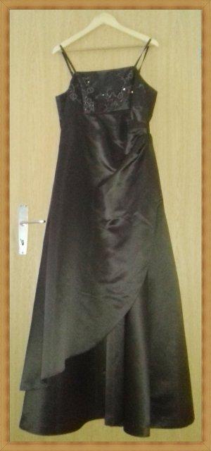 Abendkleid Brautkleid braun Gr 44
