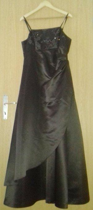 Abendkleid Brautkleid braun Zero Gr 42