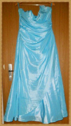 Robe de mariée bleu clair polyester