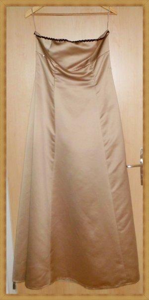 Abendkleid Brautkleid gold Gr 42