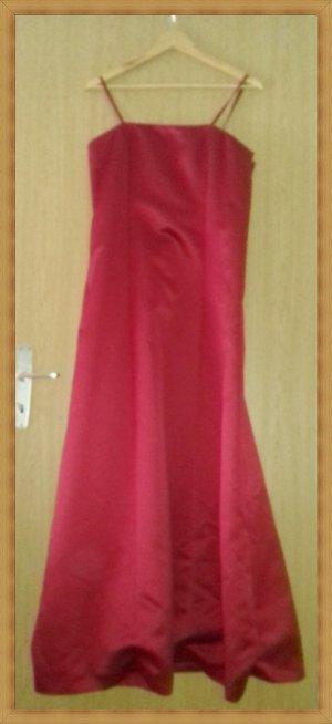 Abendkleid Brautkleid rot Zero Gr 42