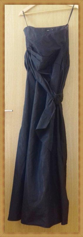 Abendkleid Brautkleid schwarz Gr 44