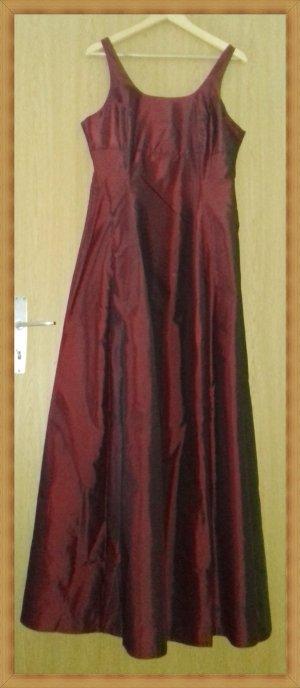 Zero Robe de mariée bordeau polyester