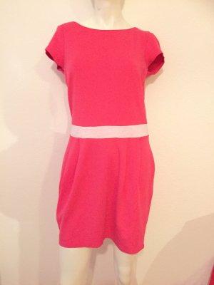 Abendkleid Büro Freizeit Kleid Von Esprit Gr. M Pink Modal