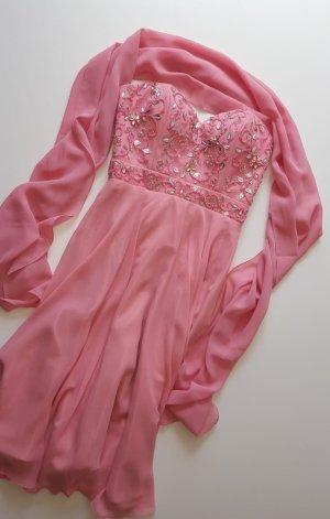 Abendkleid bzw. Ballkleid in rosa