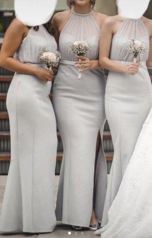 Asos Evening Dress light grey-grey