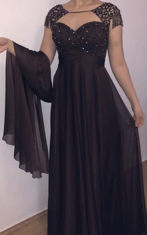 2026 Evening Dress dark brown