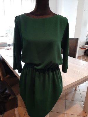Zara Midi Dress forest green
