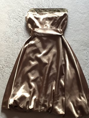 Abendkleid Cocktailkleid gold Jennifer Taylor 36