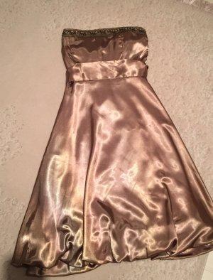 Abendkleid Cocktailkleid gold Jennifer Taylor 36