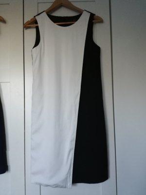 Abendkleid Cocktailkleid in schwarz weiß von Zero