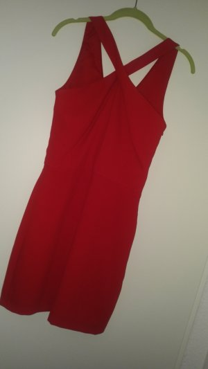 Abendkleid Cocktailkleid Minikleid von Mango in Rot Gr S