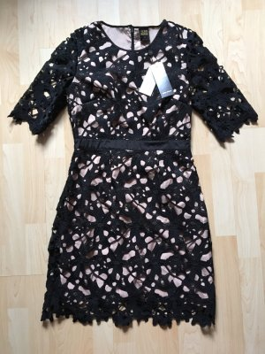 Abendkleid Cocktailkleid Spitzenkleid schwarz Vero Moda Größe 38