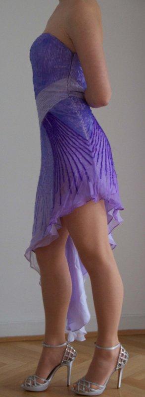 Sherri Hill Vestido de noche multicolor Poliéster