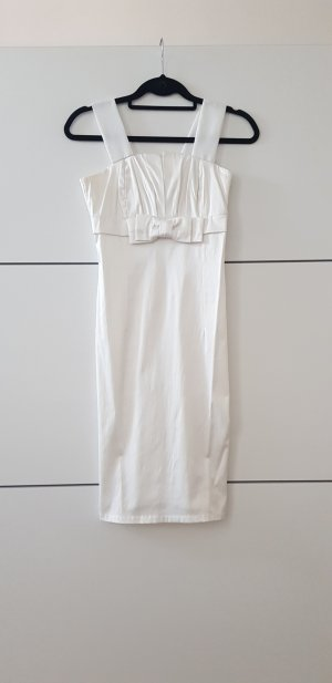 Abendkleid, Cocktailkleid, weiß, kurz, elegantes Kleid