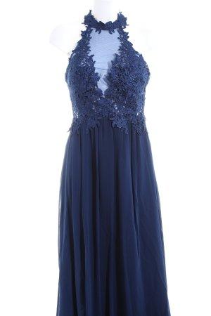 Abendkleid dunkelblau Elegant