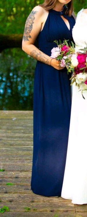Abendkleid dunkelblau Gr.42