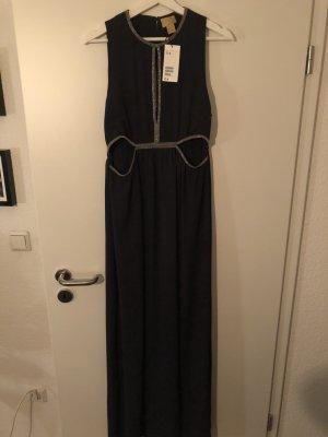Abendkleid dunkelblau Gr. 42