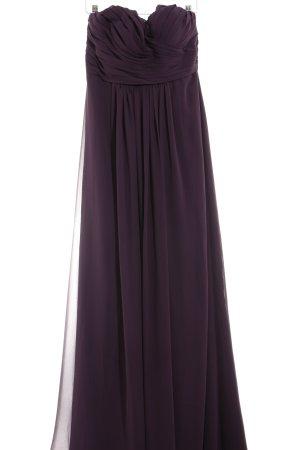 Abendkleid dunkelviolett Elegant