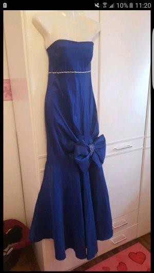Abendkleid elegant dunkel blau