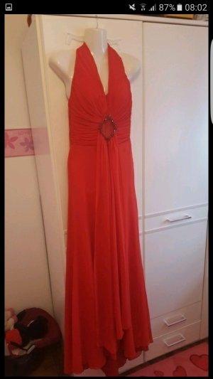 Abendkleid elegant rot