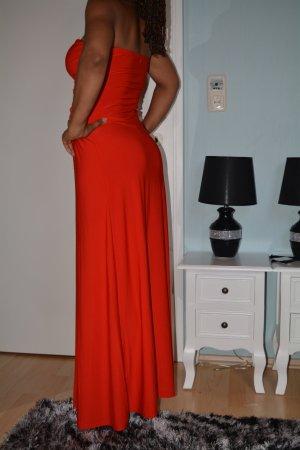 Abendkleid F&Girl in rot S/M
