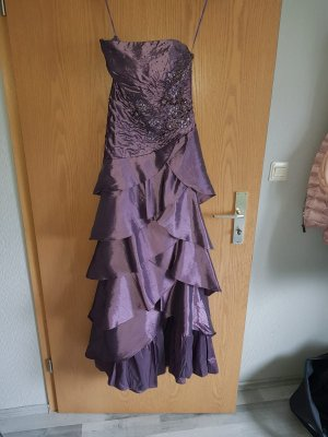 100 Evening Dress grey violet