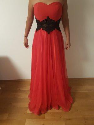 Evening Dress red-black