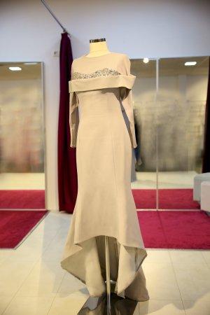 Evening Dress light grey