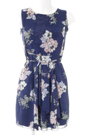 Abendkleid florales Muster Casual-Look