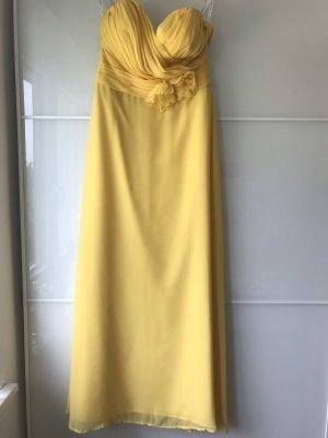 Abendkleid gelb