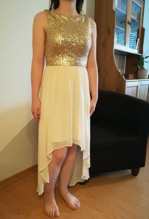 Abendkleid gold