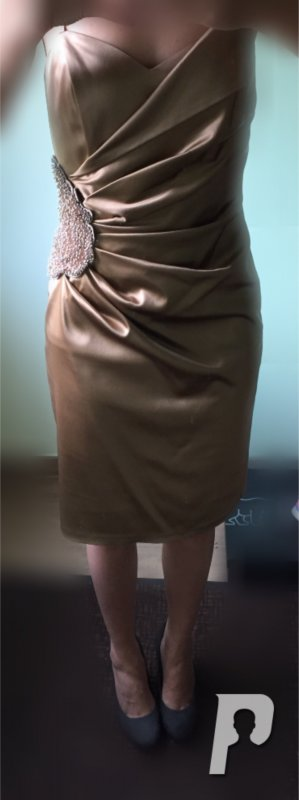 Abendkleid gold