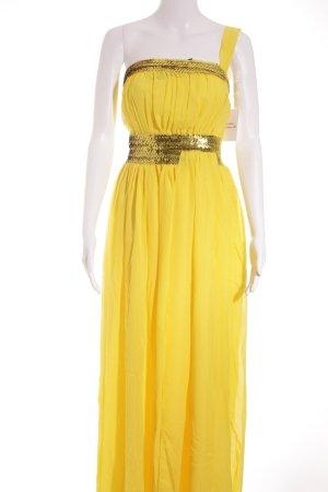 Abendkleid goldorange Elegant