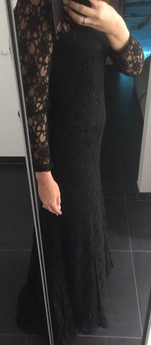 Abendkleid Gr 36-38 spitze schwarz