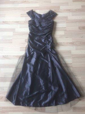 Abendkleid gr.36 grau/lila