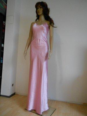 Abendkleid gr 36 rosa schimmernd / glänzend