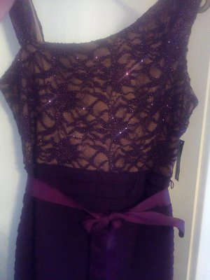 Abendkleid Gr 44-46 lila