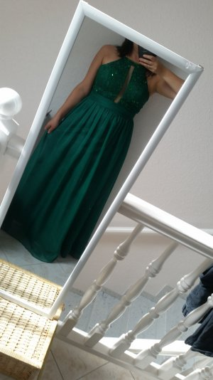 Abendkleid grün 40 spitze