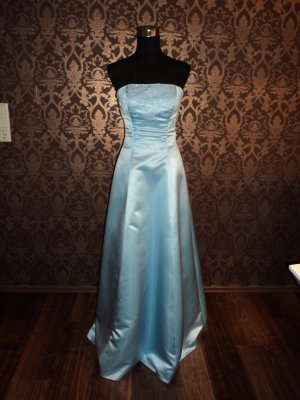 Abendkleid hellblau NIENTE Gr. 34-36