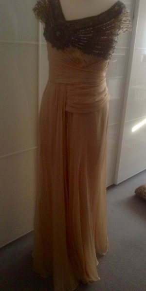 Abendkleid, hochzeitskleid, Seide wertvoll mit original Cover und Rechnung
