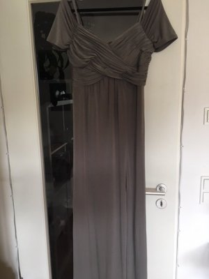 Ashley Brooke Evening Dress grey brown mixture fibre