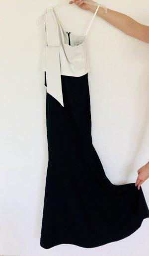 Abendkleid im Meerjungfrauen-Stil von Coast 34/36 inkl. schwarzen Sandalen