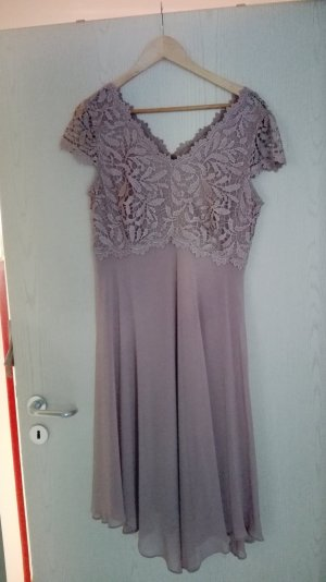 Abendkleid in altrosa