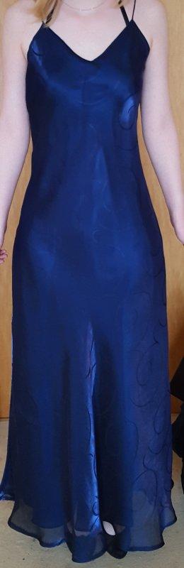 Abendkleid in dunkelblau