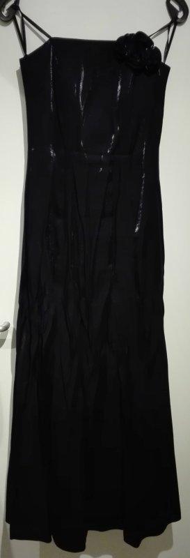 Abendkleid in dunkelblau Größe 36