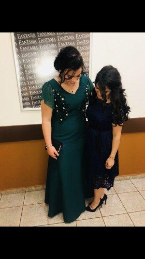 Abendkleid in dunkelgrün - 44/46